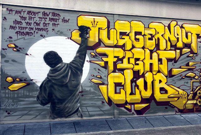 Wall Graffiti Tagging Art Kampong Glam