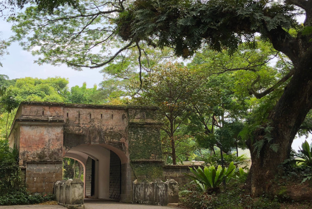 Fort Canning Tour