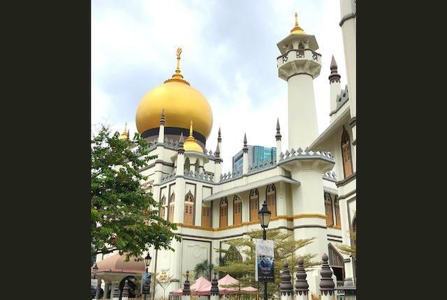Saris Sultans Shophouses Sultan Mosque Kampong Glam