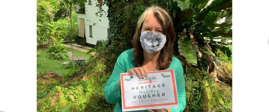 Jane Heritage Holiday Voucher