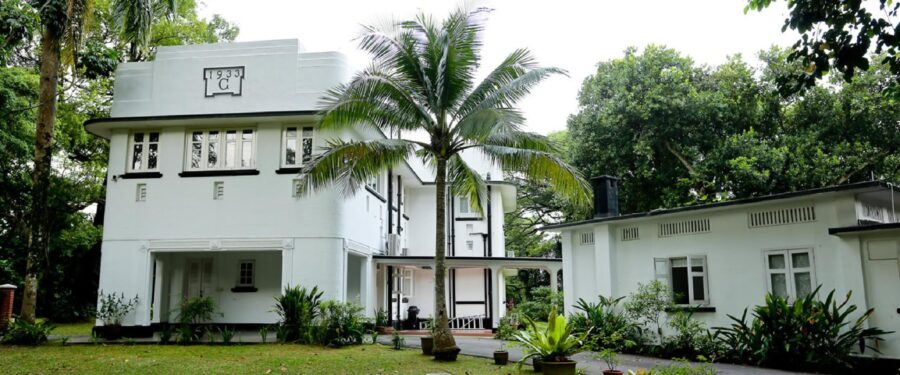 Blog black & white houses