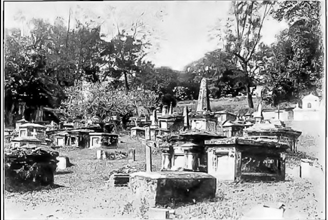 Spooky Fort Canning old cemetery