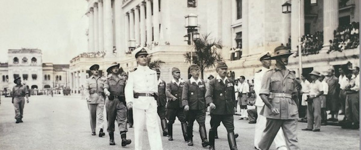 WWII Singapore Japanese Surrender March